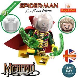 Spider-Man Mysterio Mini Figure Illusion Quentin Beck Avengers Marvel Vendeur Britannique