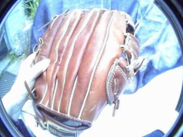 Wilson a9850 brand of the pros left hand baseball globe glove
