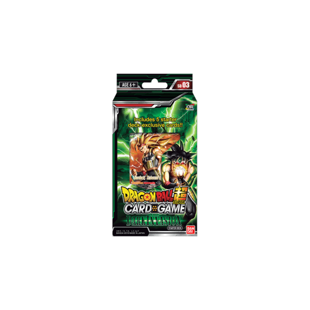 Dragon Ball Super Card Game The Dark Invasion Starter Deck SD03 NEW /& SEALED