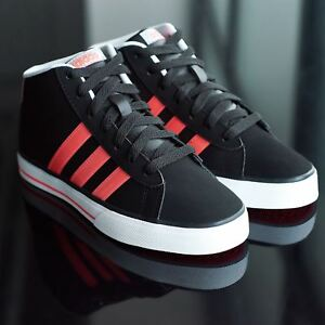 2a75804ed69ed ADIDAS NEO Daily Mid Nubuck JUNIOR Kids Girls Trainers Shoes 11