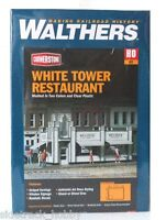 Ho Scale Walthers Cornerstone 933-3030 White Tower Restaurant Building Kit