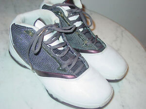 d15b44a9644b8f 2001 Nike Air Jordan Retro 16 + QM OG Cherrywood Whisper White Shoes ...