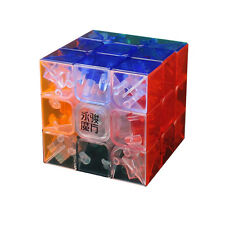 MoYu YuLong Transparent 3*3 Magic Cube Twist Smooth Puzzle Brain Game Toy Gift