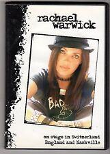 (GW370) Rachael Warwick: On Stage - 2004 DJ DVD + CD