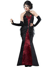 black widow elegant gothic witch vampire adult halloween costume