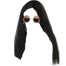 OZZY Osbourne lunga parrucca e occhiali da sole Occhiali Rocker Costume Kit