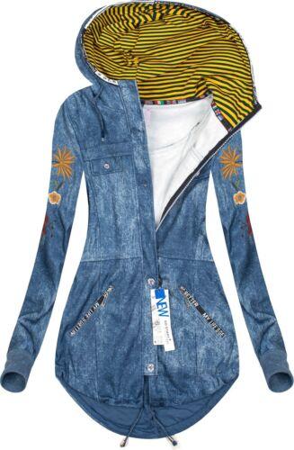 Damen Kapuzenpullover Sweatshirt Pulli Hoodie Pullover Sweatjacke J7903 NEU