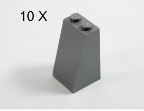 Solid Studs Part 3684c LEGO® Dark Gray Slope 75 2 x 2 x 3