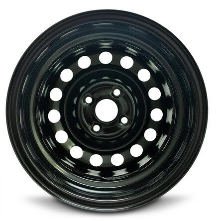 "Wheel Fits 2006-2017 Hyundai Accent New Steel Rim 14/"" 15 Spokes 4-100mm 14x5.5"