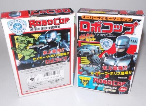 ROBOCOP ROBOCOP /& ED-209 SET OF SMALL SNAP TOGETHER MODEL KITS