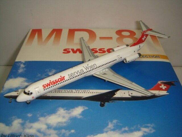 Dragon Wings 400 Swissair MD-81  Servus Wien-bachenbulash  1 400
