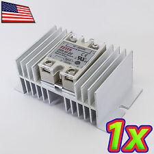 [1x] Aluminum Solid State Relay SSR Heat Sink for SSR-40 SSR-80 SSR-100 DD AD