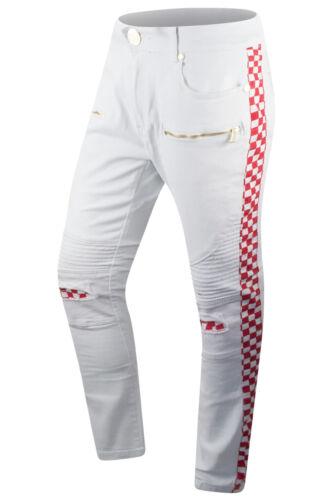 38 Survêtement Coloris Jeans Hommes Tailles 30 Neuf Pantalon Carreaux 3 À 6S1qwwx