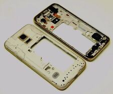 Samsung Galaxy s5 mini g800 marco intermedio cover middleframe carcasa housing oro