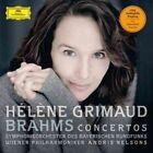 Helene Grimaud Brahms Piano Concertos LP Vinyl 2014 33rpm