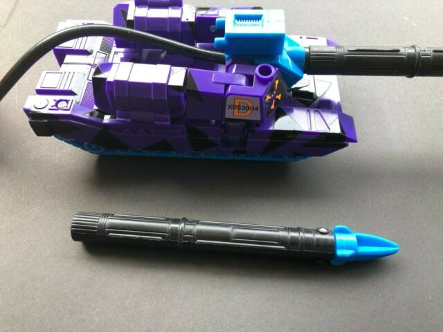 Hasbro Transformers Gen 2 1983 Megatron Rules CLEAN with Missiles EUC