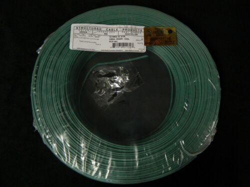 22 GAUGE 2 CONDUCTOR 200 FT GREEN ALARM WIRE STRANDED COPPER HOME SECURITY CABLE