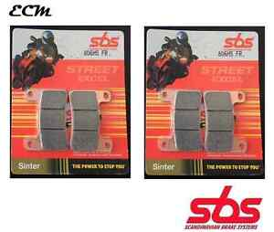 SUZUKI-GSX-R-1000-L1-2011-Radial-PINZA-DE-FRENO-SBS-Set-PASTILLA-DELANTERO