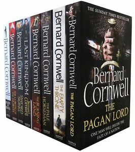 Bernard-Cornwell-Warrior-Chronicles-Series-8-Books-Set-Collection-Last-Kingdom