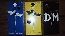 Depeche Mode 1990 - ENJOY THE SILENCE - 3 x Maxi CD's - Longboxes UK - NEU + RAR