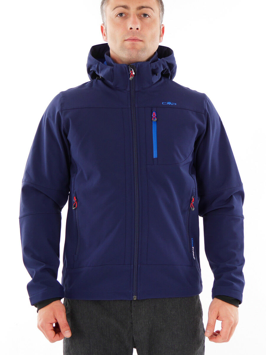CMP Softshell Giacca Funzione Giacca Outdoor Blu Scuro WP 7.000mm