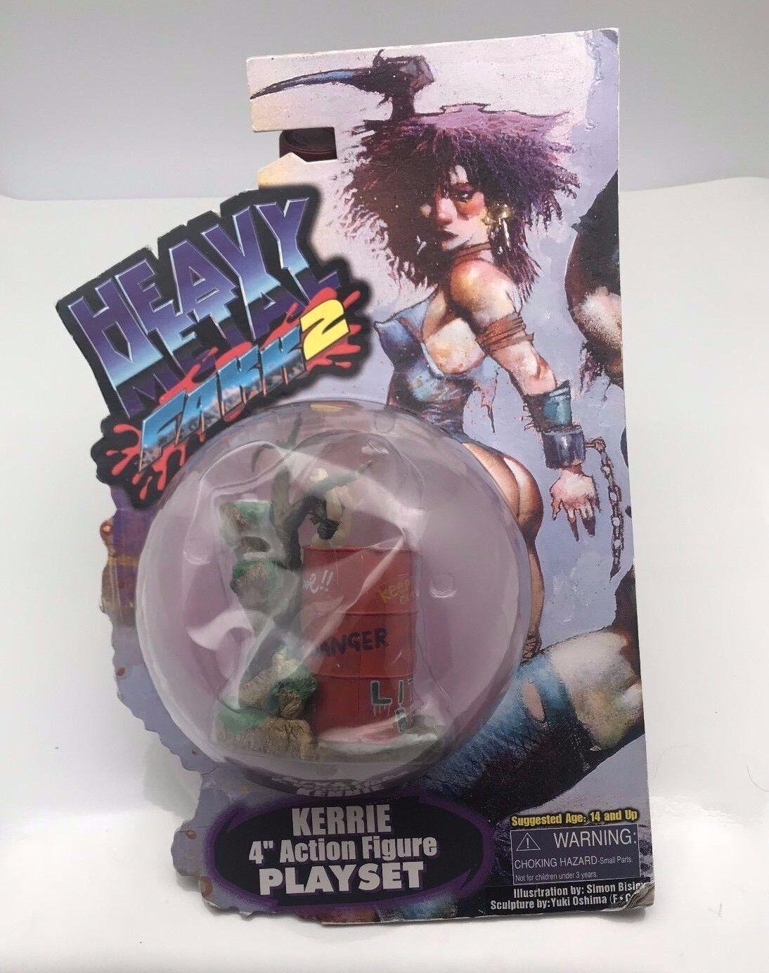 Heavy Metal FAAK2 Kerrie 4  Action Figure Playset