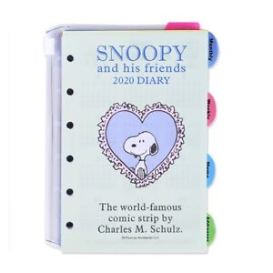 2021 Peanuts Snoopy Weekly Pocket Planner Agenda Schedule Book A6 BLUE