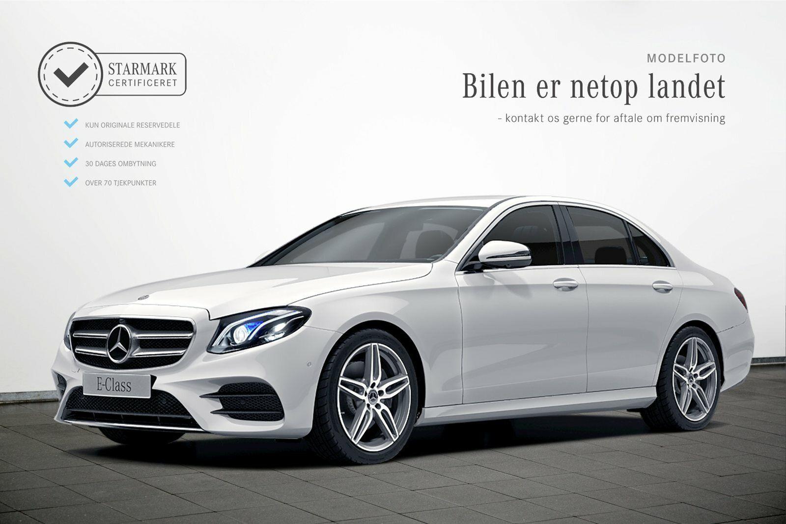 Mercedes E300 d 2,0 AMG Line aut. 4d - 669.900 kr.