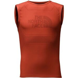 4b64f0316 Details about The North Face Mens FLIGHT SERIES WARP TANK TOP Ultimate  Running VEST Orange S/M
