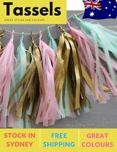 5-Pieces-Tissue-Paper-Tassels-Garlands-Bunting-Party-Wedding-Decoration-pompoms