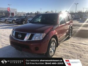 2011 Nissan Pathfinder 4X4 S $9998 A/C,
