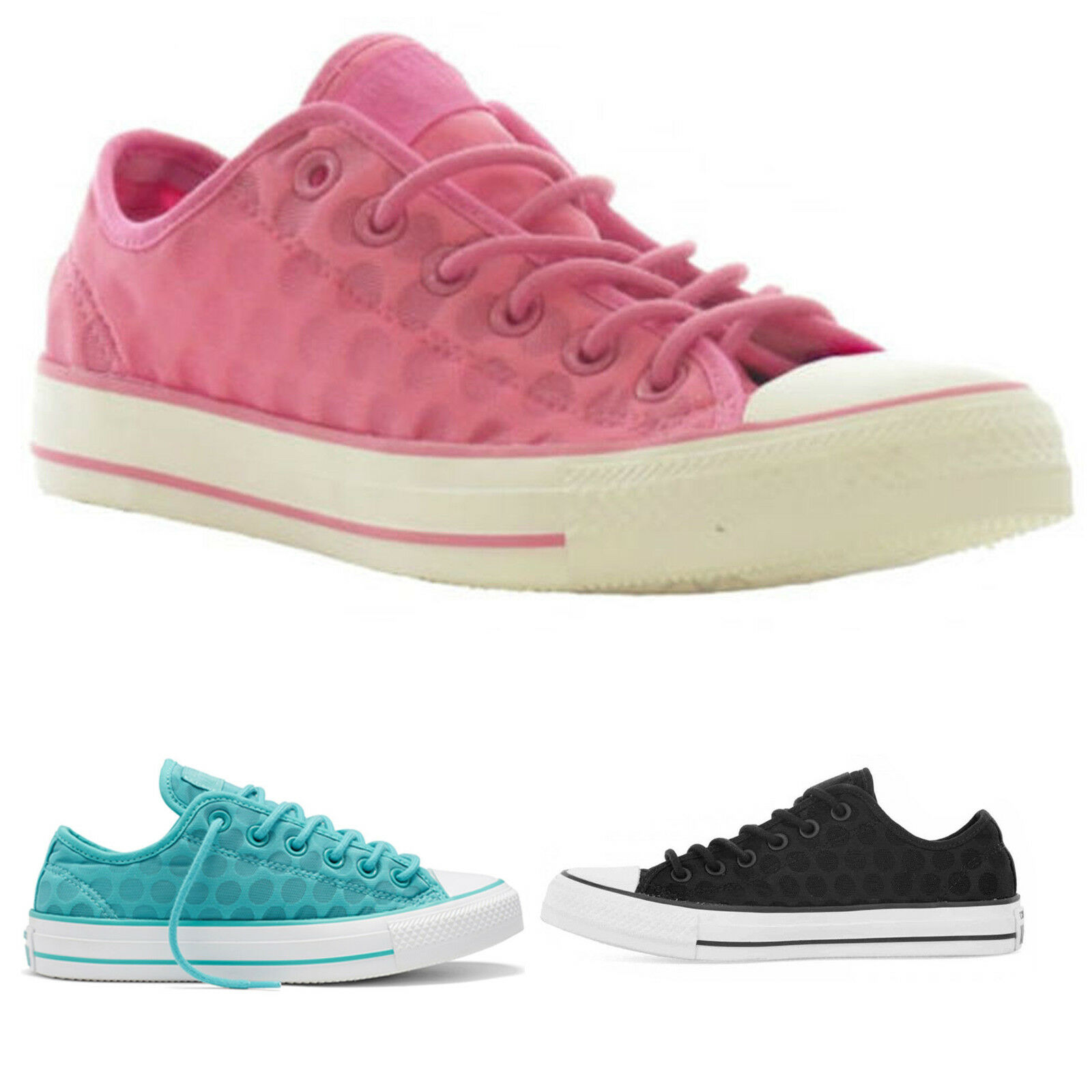 Ladies Womens Converse All Star Chucks Breathable Trainers Shoes 3 4 5 6 7 8 9