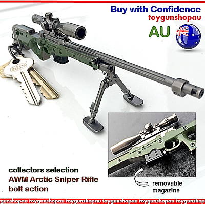 PUBG Kar98K Sniper Rifle Keyring Gun Keychain Hunting Rifle Toy Gun Key ring au