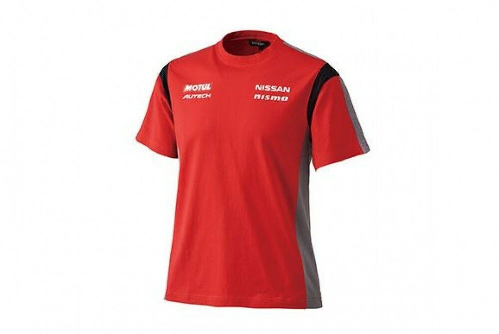NISSAN NISMO SUPPORTER T-shirt ROT New cotton 100% from JAPAN