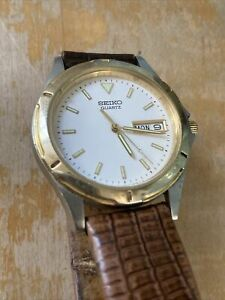 SEIKO-MEN-039-S-SGG132-DRESS-RETRO-QUARTZ-ANALOG-WATCH-CASE-7N43-6A09