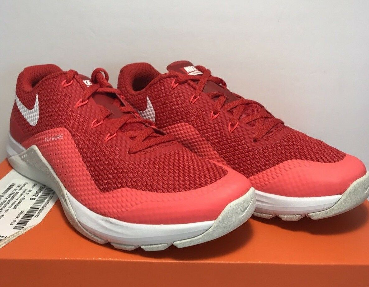 new style 7ddb8 484c8 Nike Mens Sz 8 8 8 Metcon Repper DSX University Red Athletic Training  Running Shoes 3af164