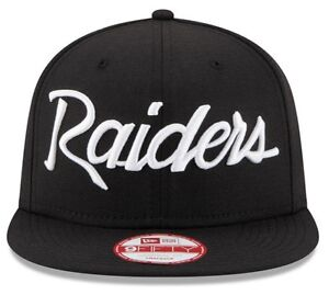 618f1f29c6a Image is loading Los-Angeles-Raiders-New-Era-9Fifty-Vintage-Anniversary-