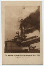 cartolina marina militare MARINA ITALIANA GUERRA 1915-18 NAVE IN CROCIERA