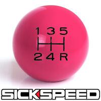 Pink/black Vintage Shift Knob For 5 Speed Short Throw Gear Selector Un2 Kit K46