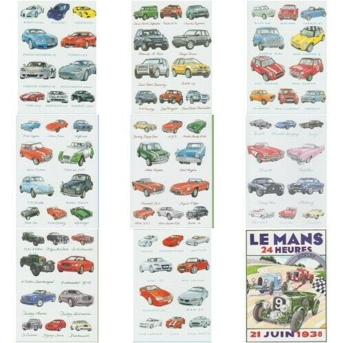 Vehicles Transport Greeting Card Cars Trains Motorbikes Aeroplanes Military