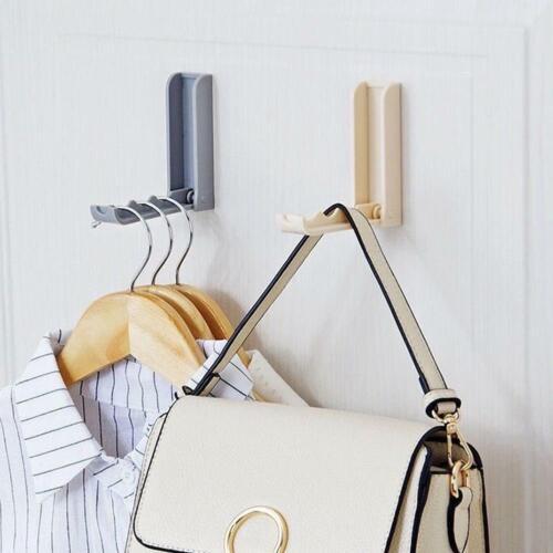 Foldable Door Hook Household Coat Storage Holder Wall Hanger