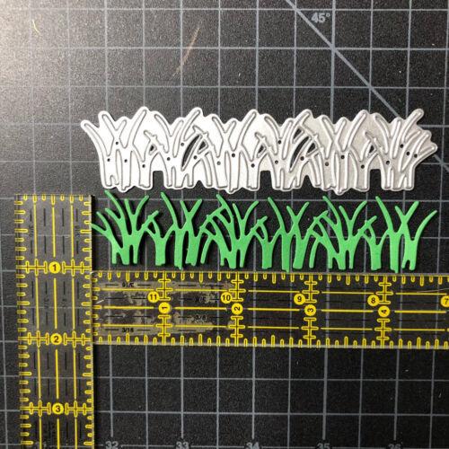 Grass Border Scrapbooking Metal Cutting Dies Decor Making Craft Embossing Gift