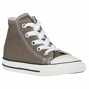 e43385a28175ae New Converse All Star C T Hi Top Unisex BOY GIRL KIDS Charcoal Grey ...