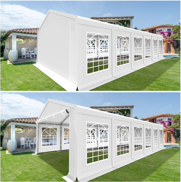 XXL XXL XXL 4x10m Bierzelt Zelt Pavillon Partyzelt Festzelt Garten Vereinszelt SMART PE | Große Ausverkauf  | Attraktives Aussehen  | Einfach zu bedienen  ebb0e6