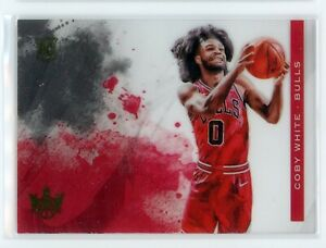 2019-20-Coby-White-Panini-Court-Kings-ACETATE-Rookie-RC-19