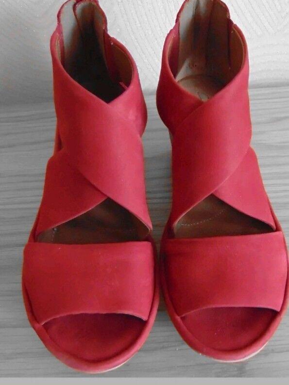 Clarks Artisan Donna rosso Donna Sandalo Sandalo Donna Artisan in pelle   0ae819
