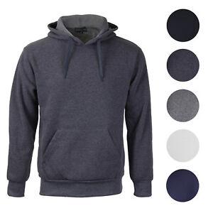 Men-039-s-Premium-Athletic-Drawstring-Fleece-Lined-Sport-Gym-Sweater-Pullover-Hoodie