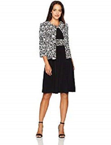 be9341a438b2 Jessica Howard Petite Midi Dress & Printed Jacket Size 8P #C546 $109.00