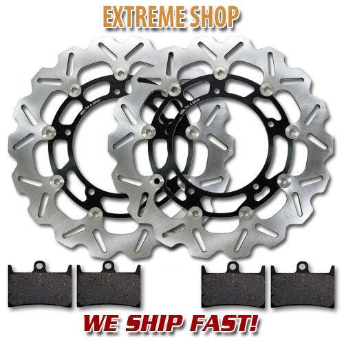 XT1200 11-15 FZ8 Pads YZF R6 Yamaha Front Brake Disc Rotor 12-18 05-16
