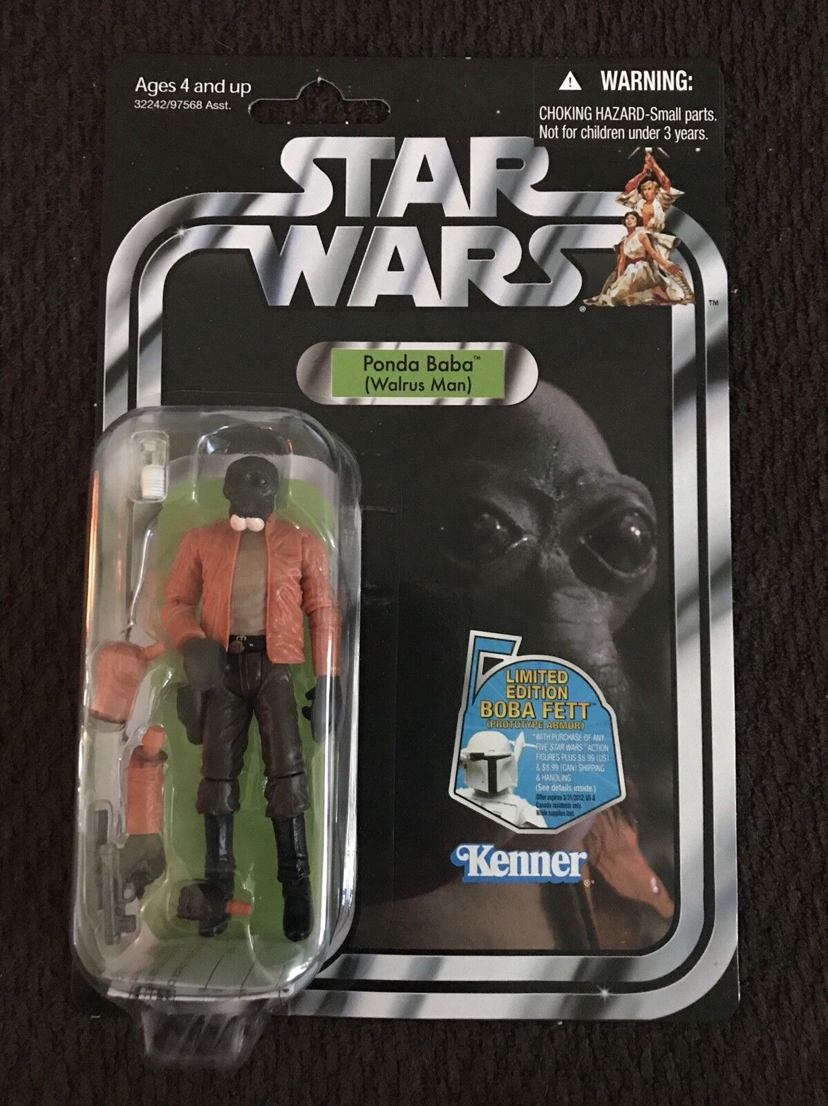 Star Wars The Vintage Collection Ponda Baba W Boba Fett Offer Figure VC70 NEW
